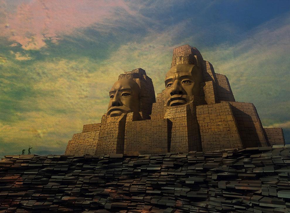 Все генералы в древнем Китае обязаны были изучать искусство Ци Мэнь Дунь Цзя.