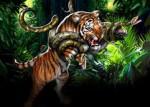 Змея и Тигр